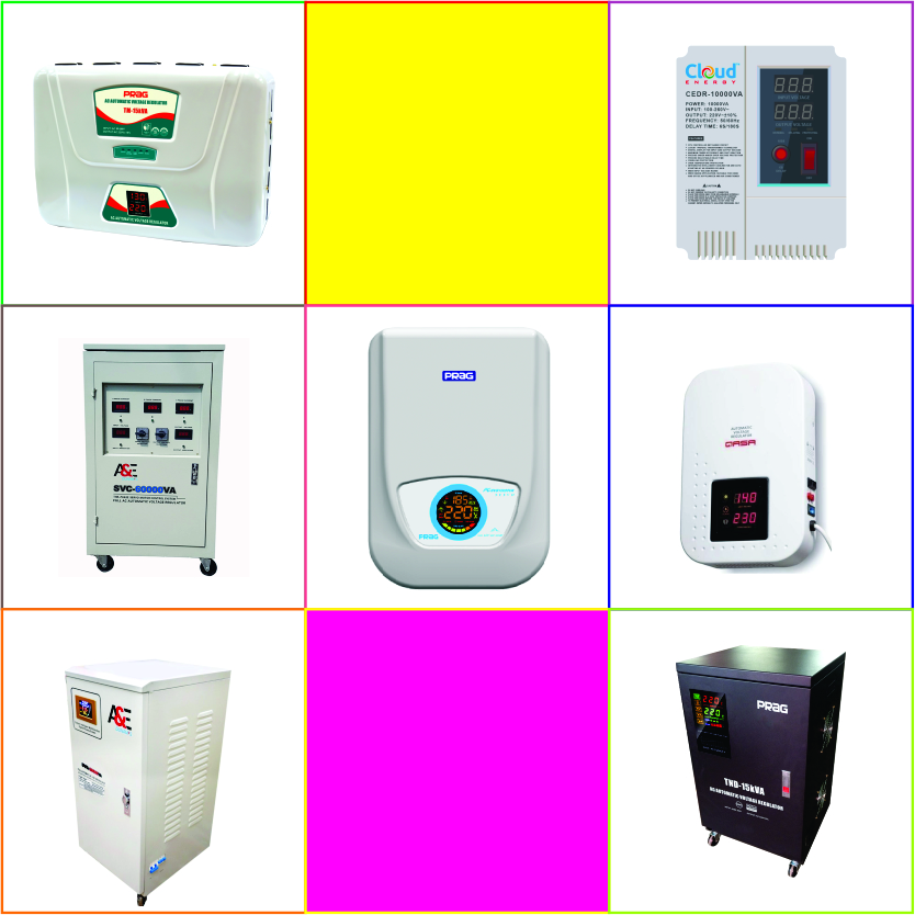 Brands of Voltage Stabilizers